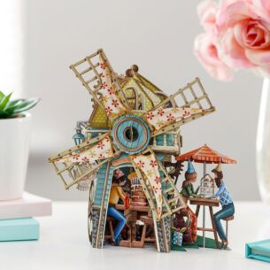 'The Windmill Tea Shop' 3D Card