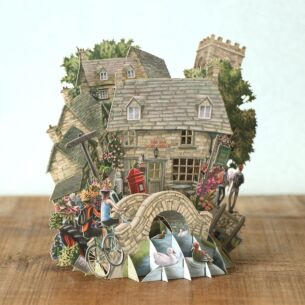"Me & McQ ""The Cotswolds"" 3D Card"