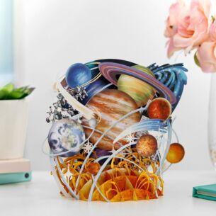 'Planetarium' 3D Card