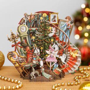 The Nutcracker 3D Christmas Card