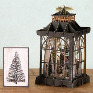The Lantern 3D Christmas Card