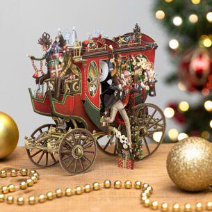 'Christmas Carol' 3D Christmas Card