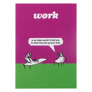 'Stick It Up Your Arse' Greeting Card