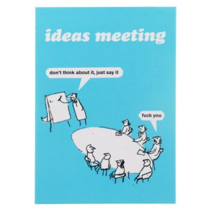 'Ideas Meeting' Greeting Card