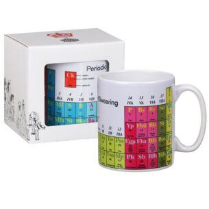 'Periodic Table of Swearing' Boxed Mug