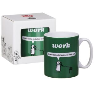 'Can't Come In' Boxed Mug