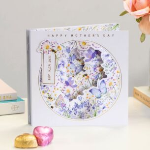 Wild Flower Mother's Day Card