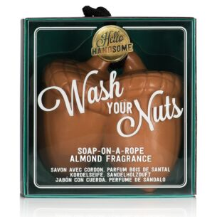 NPW Wash Your Nuts Soap On A Rope