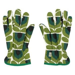Orla Kiely Striped Tulip Pin Gardening Potting Gloves