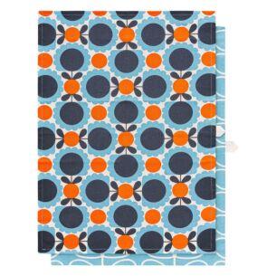 Scallop Flower Sky Set of 2 Tea Towels