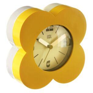 Yellow Flower Spot Alarm Clock