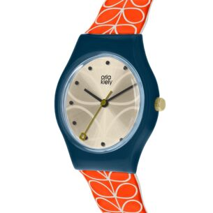 Navy and Red Bobby Watch