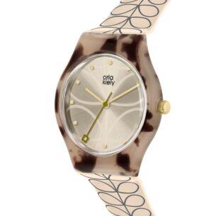 Cream Linear Stem Bobby Watch