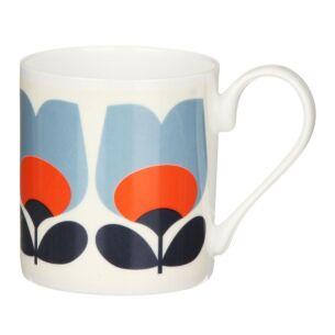Orla Kiely Poppy Orange Tulip Small Mug