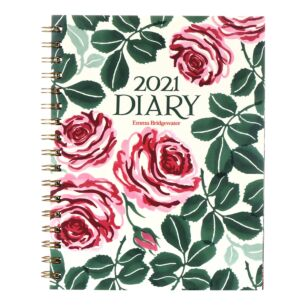 Pink Roses Deluxe 2021 Desk Diary