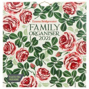 Pink Roses 2021 Family Organiser