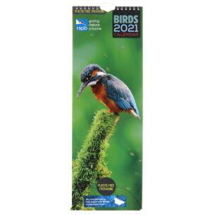 RSPB Birds 2021 Slim Calendar