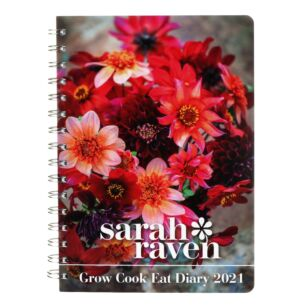 Sarah Ravens Grow Cook Eat Deluxe 2021 Desk Diary
