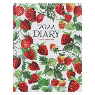Vegetable Garden Strawberries Deluxe 2022 Desk Diary