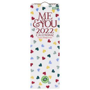 'Me & You' Hearts 2022 Slim Calendar