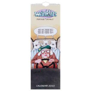 Wrinklies 2022 Slim Calendar
