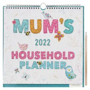 Mum's Fabric 2022 Family Wall Planner