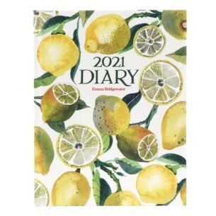 Vegetable Garden Lemons Deluxe 2021 Desk Diary