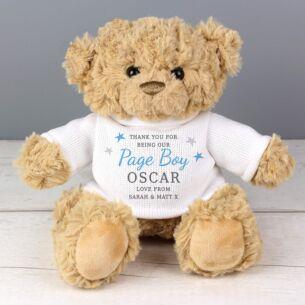 Personalised Boys Teddy Bear