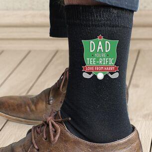 Personalised Tee-Rific Men's Socks