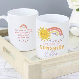 Personalised 'You Are My Sunshine' Mug