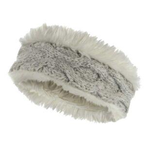 Chamonix Oatmeal Fur Headband
