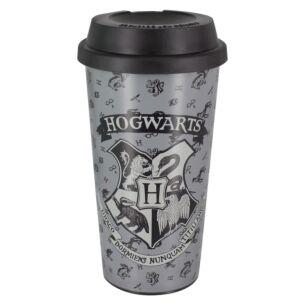 Harry Potter Hogwarts Grey Travel Mug