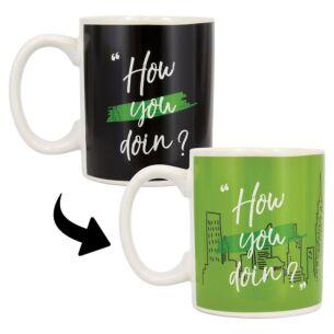 'How You Doin' Heat Colour Changing Mug