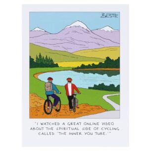 Bestie 'Cycling' Card