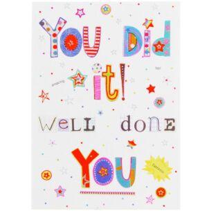 Bits & Bobbins Congratulations Card
