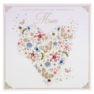Gold Dust 'Mum' Mother's Day Card