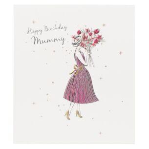 'Happy Birthday Mummy' Card