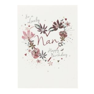 Paperlink 'For a Lovely Nan' Birthday Card
