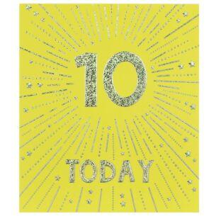 Firecracker 10th Birthday Card