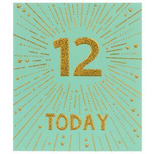 Firecracker 12th Birthday Card
