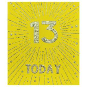Firecracker 13th Birthday Card