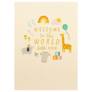 First Chapter 'Welcome To The World' Card