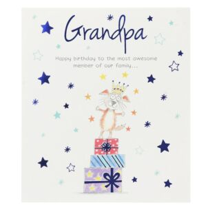 Paperlink 'Grandpa' Birthday Card