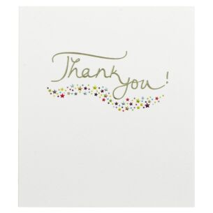 Mimosa 'Thank You' Greetings Card