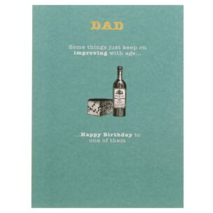 Mad As Hops 'Dad' Birthday Card