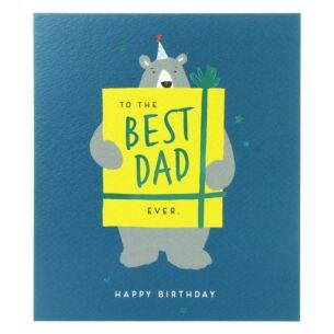 Paperlink 'Best Dad Ever' Birthday Card