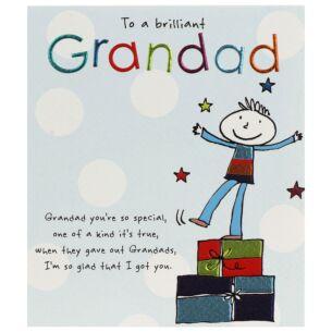 Tinklers 'Brilliant Grandad' Birthday Card