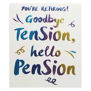 Wow! Retirement & Leaving Card