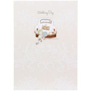 Trinket Box Wedding Day Card