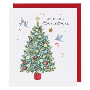 Adeline Christmas Tree Christmas Card